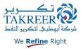 Latest Jobs in Abu Dhabi Oil Refining Company (TAKREER)